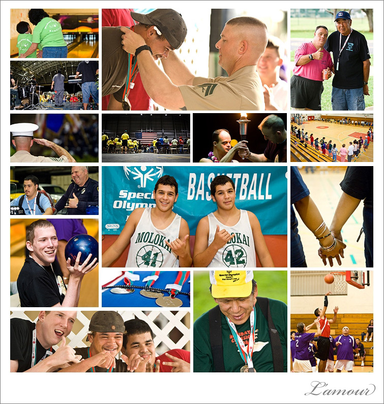Special Olympics Hawaii Holiday Classic 2008 Volunteering